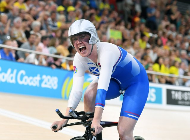 Katie Archibald won gold in the individual pursuit for Scotland at the 2018 Commonwealth Games (PA Images)