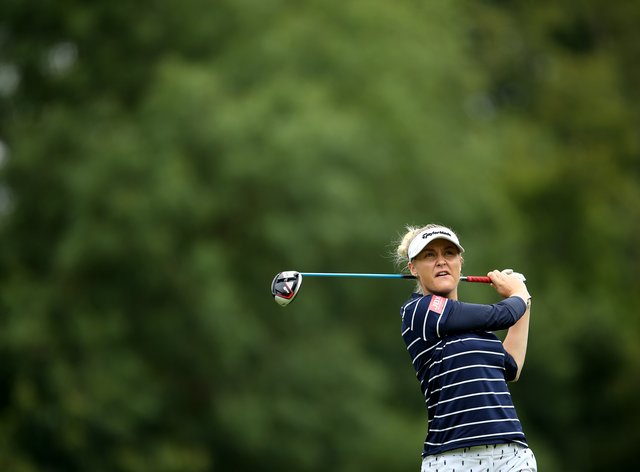 Hull enjoyed her Women's Open appearance at her home course