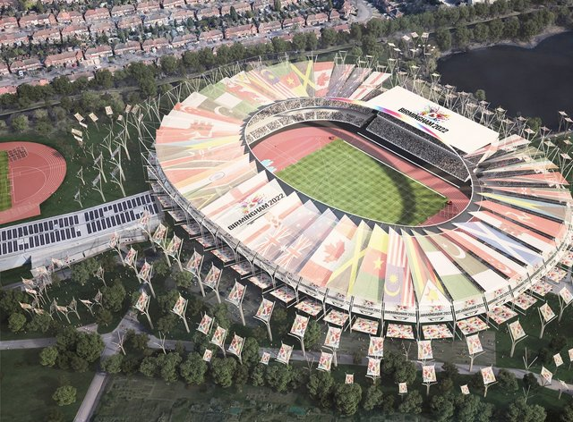 Birmingham prepares for the 2022 games (PA Images)