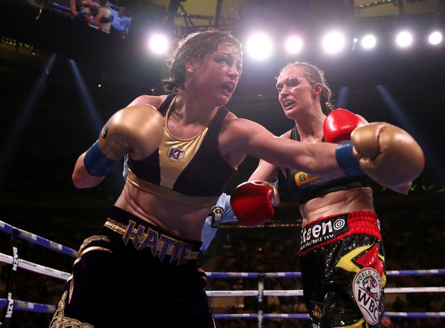 Katie Taylor won a controversial majority decision against Delfine Persoon in Madison Square Garden in June (PA Images)