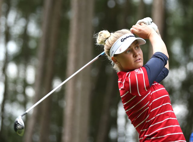 Charley Hull still in contention at the end of day two (PA Images)