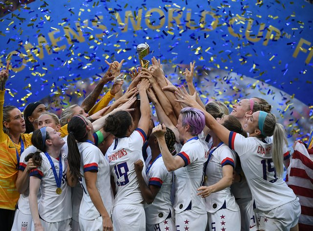 The United States beat The Netherlands 2-0 in the World Cup final to retain the trophy back in July (PA Images)