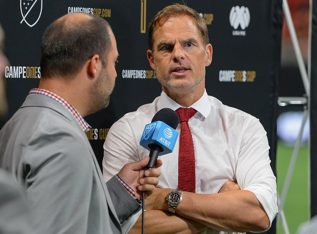 Frank de Boer is currently the manager of American side Atlanta United (PA Images)