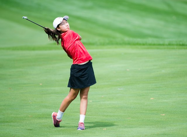 Michelle Liu will become the youngest woman to compete at the Canadian Women's Open (PA Images)