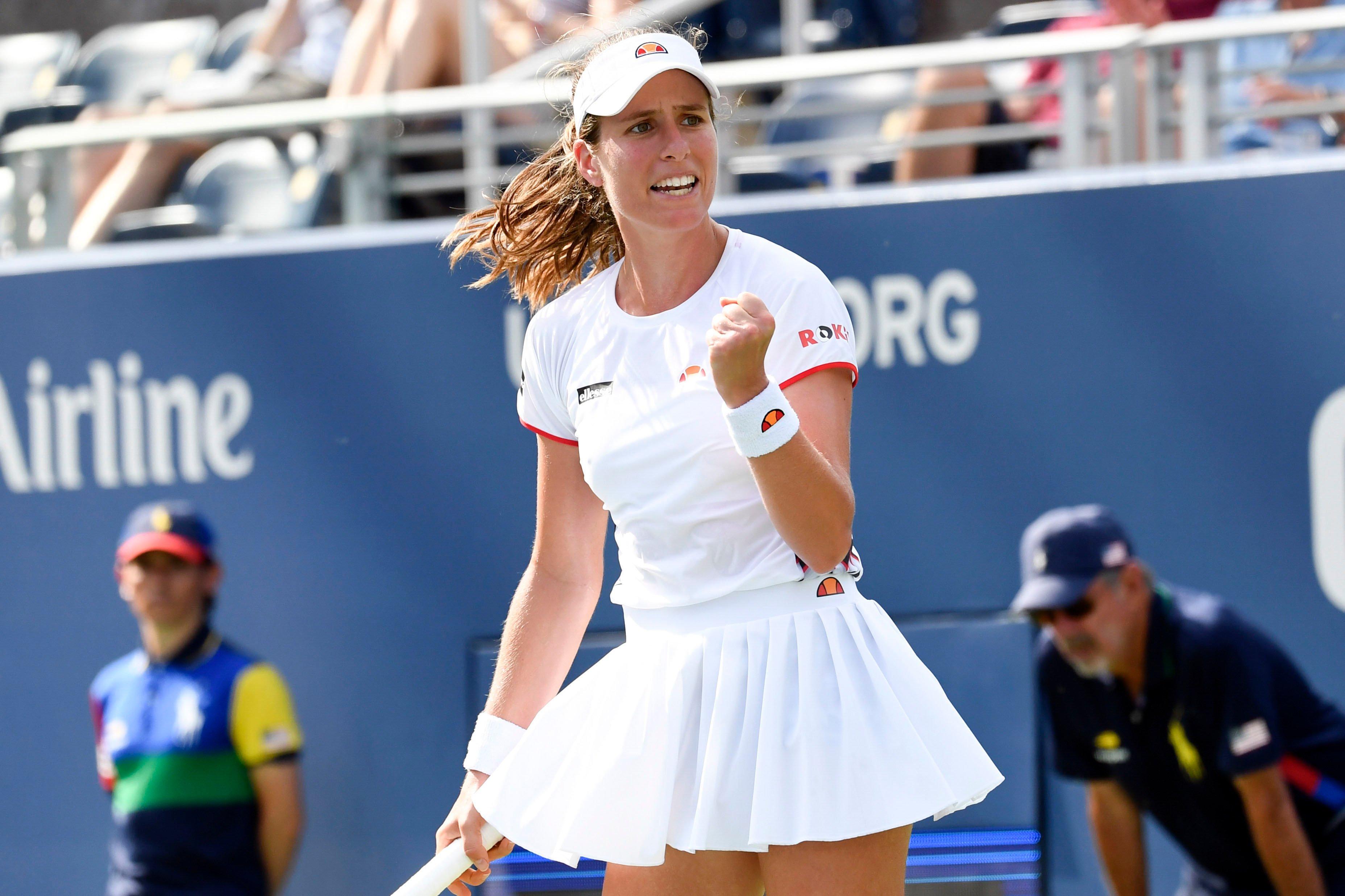 Johanna Konta optimistic despite lack of match practise heading into Australian Open