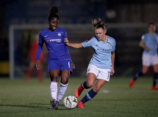 Anita Asante (left) only made three appearances in the Women's Super League last season due to a serious ACL injury (PA Images)
