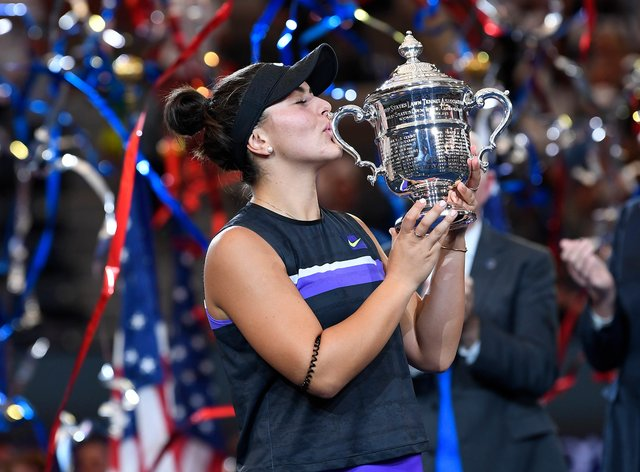 Bianca Andreescu became the first teenager since 2006 to win the US Open (PA Images)