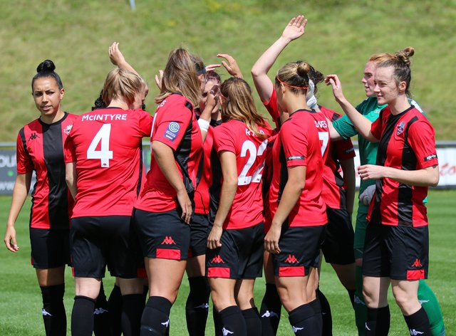 Lewes Women: equal pay, equal play and a level playing field with the men's team (James Boyes)