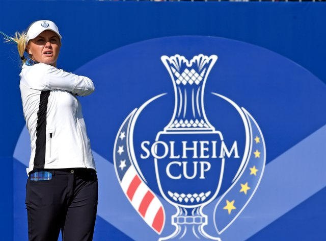 Charley Hull starred for Team Europe on day one (PA Images)