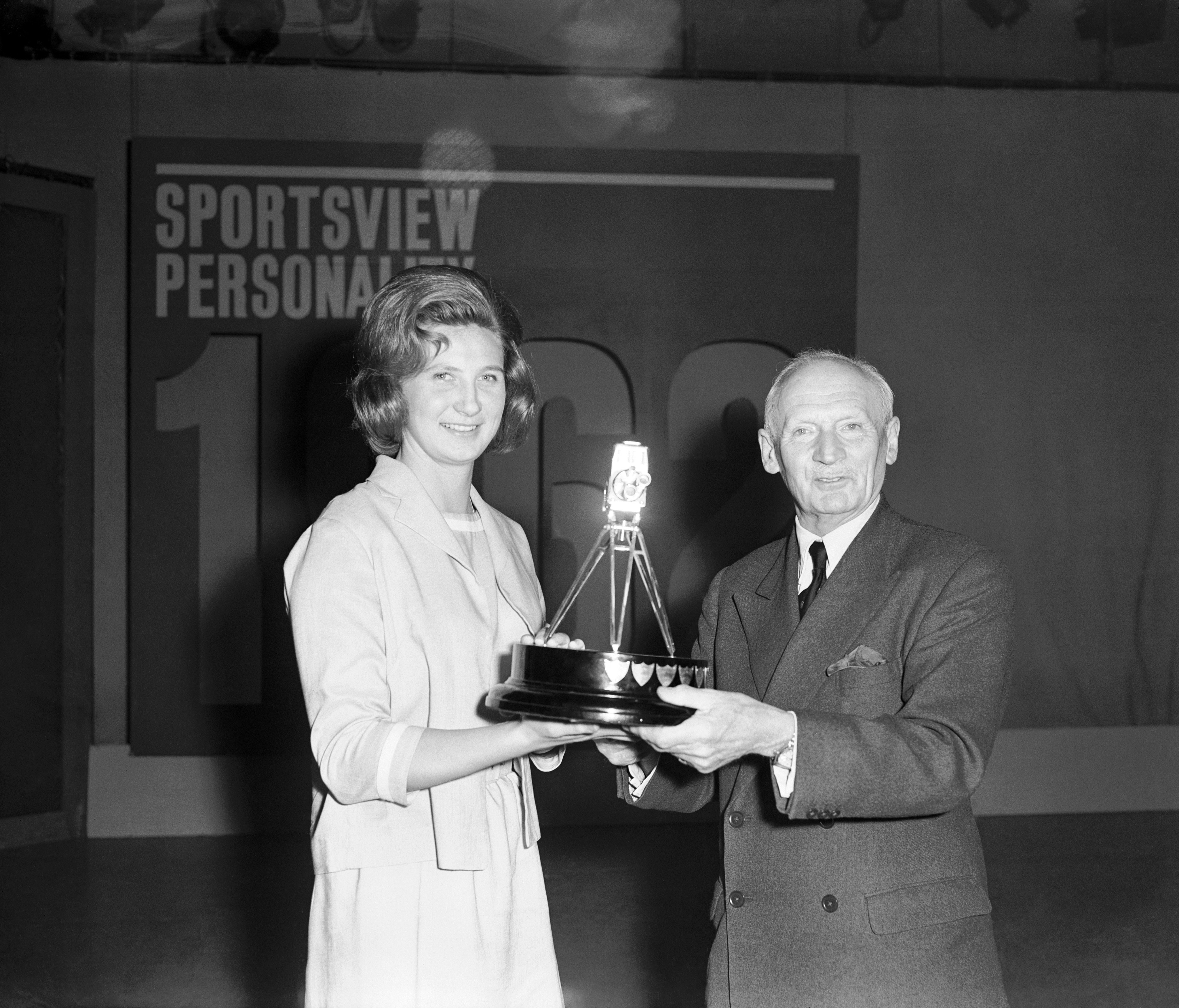 First female SPOTY winner, swimmer Anita Lonsbrough, says 'I didn't prepare a speech because I thought someone else had one'