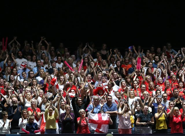 The Netball World Cup was heavily attended this year in Liverpool (PA Images)