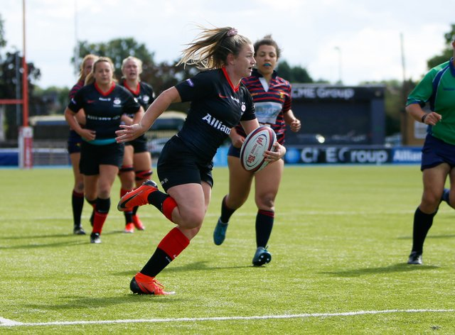 Chantelle Miell says Saracens are taking this season one game at a time(Lara Miller)