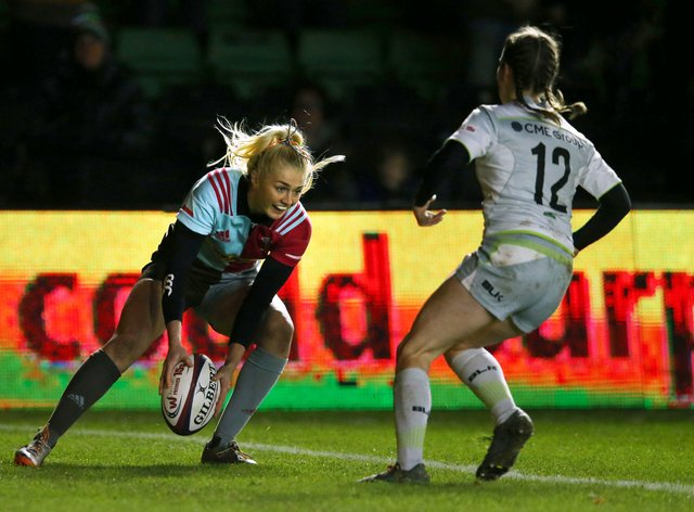 Harlequins will be looking to crack the defending champions Saracens (PA Images)