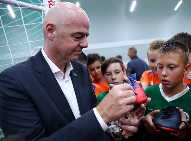 Gianni Infantino was appointed FIFA President in 2016 (PA Images)