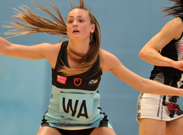 Emily Gulvin will return for her third successive season with Surrey Storm (Vitality Superleague)