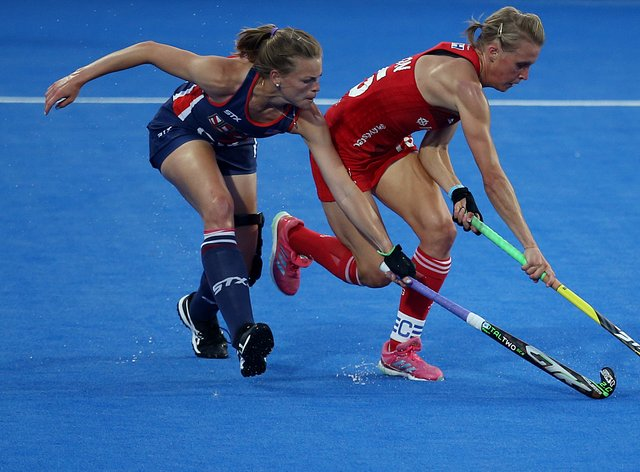 Alex Danson calls for hockey to be on free-to-air TV (PA Images)