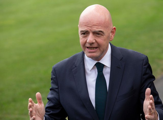Infantino has said that Italy must follow England's punishment system (PA Images)