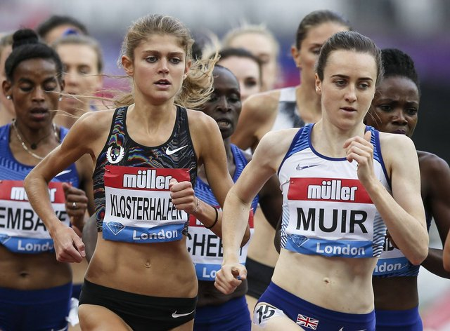 Laura Muir will not be travelling to a training camp in Arizona (PA Images)