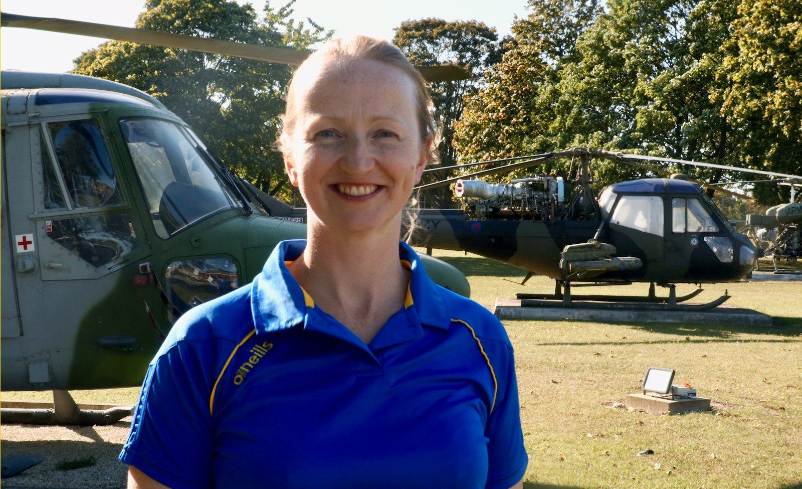 Team Bath's new head coach Jo Vann compares her netball role to her life as an army captain