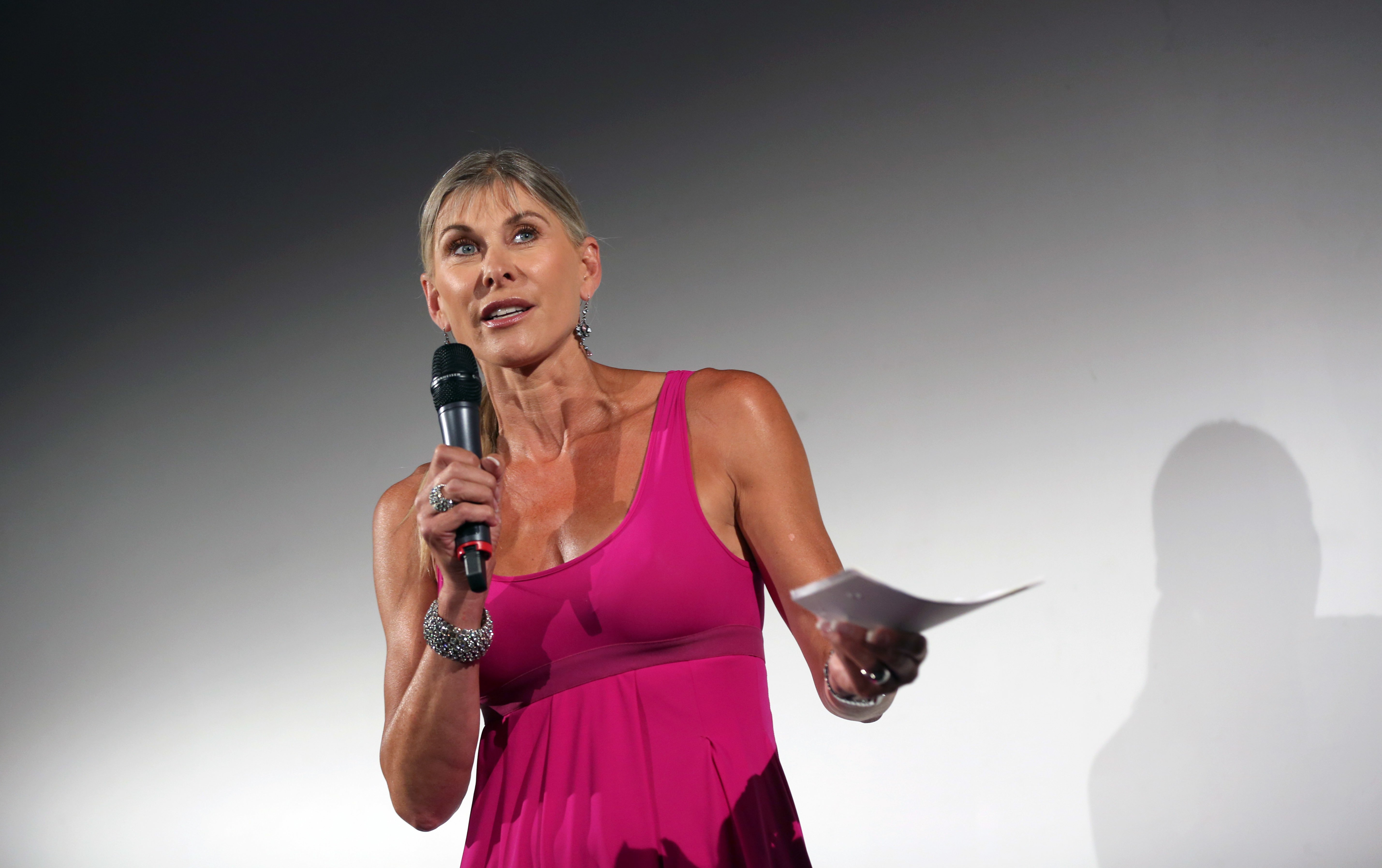 Olympic medallist Sharron Davies comes under fire after comparing drag queens to blackface