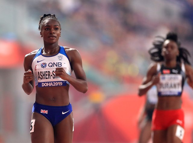 Dina Asher-Smith is the current 200m Diamond League champion (PA Images)