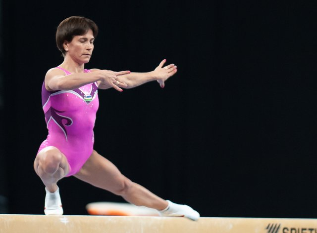 Oksana Chusovitina has competed in seven Olympic games (PA Images)