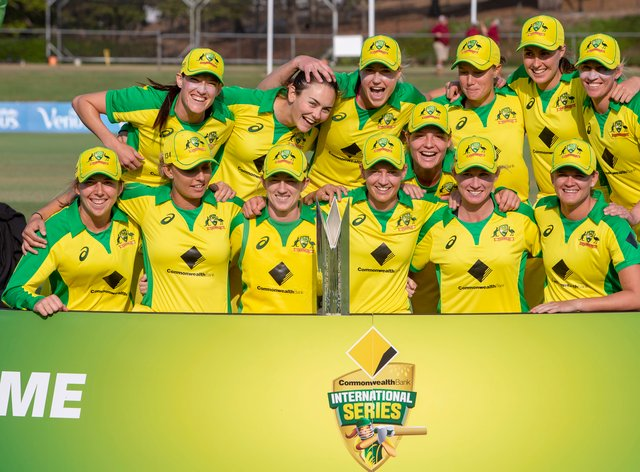 Australia won the one-day series 3-0 against Sri Lanka 3-0 (PA Images)