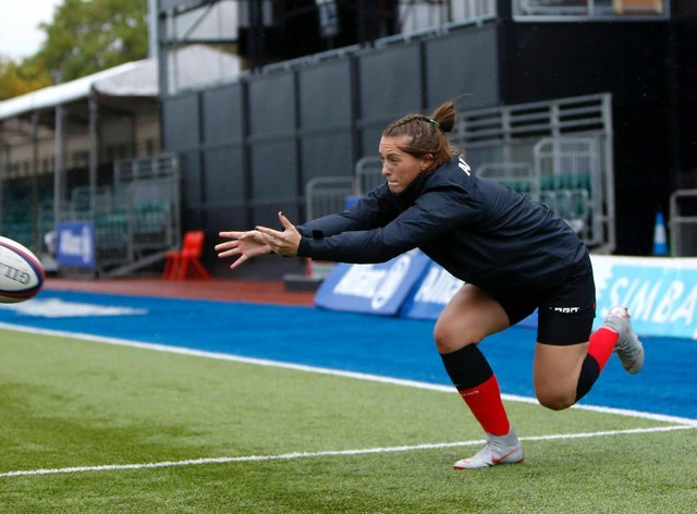 Saracens make it four wins from four in the Premier 15s (Saracens Women Twitter)