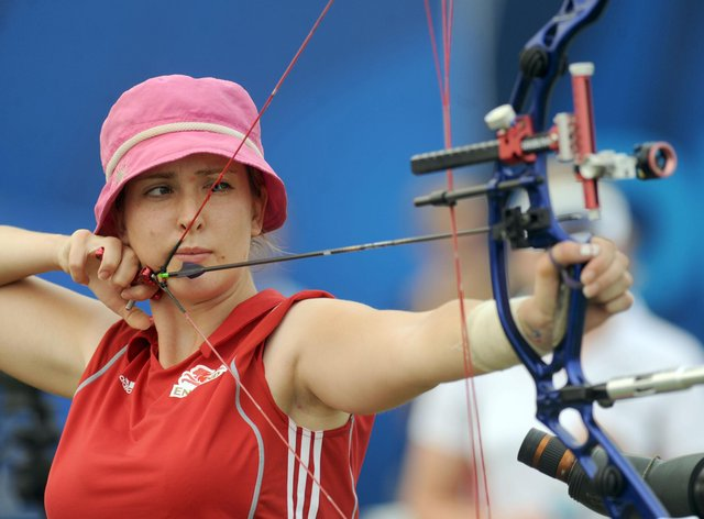 Danielle Brown is a two-time Paralympic gold medal winner in archery (PA Images)