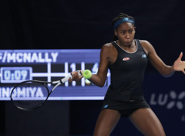 the best attitude shop best sellers low price sale Coco Gauff suffers first round exit to Anna Blinkova in ...