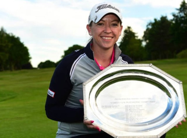 Heather MacRae won the Women's PGA Professional Championship in May just two weeks before her cancer surgery (Instagram: @heathermacgolf)