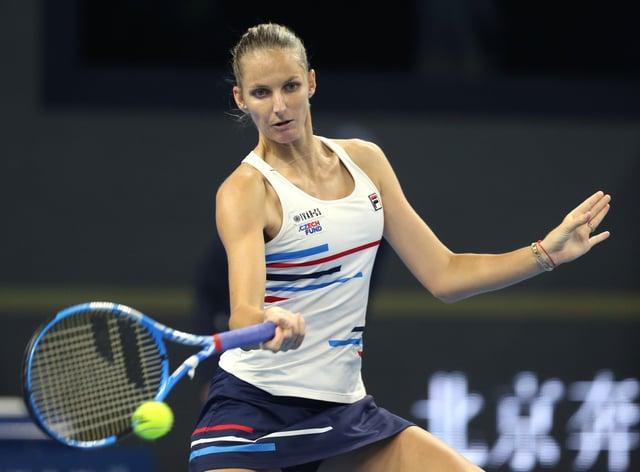 Karolina Pliskova leads the WTA Tour for titles won this season with four (PA Images)