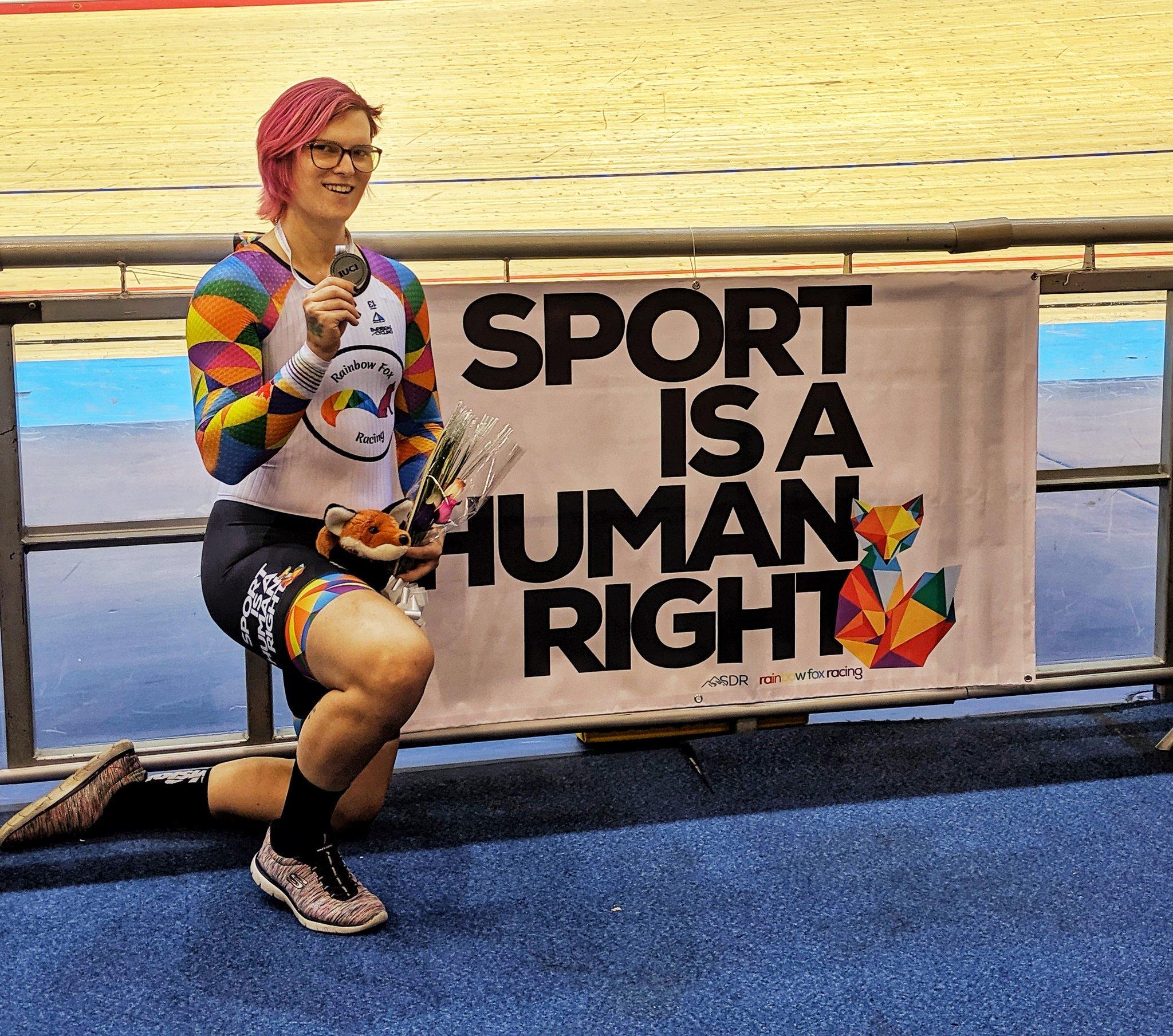 Transgender cyclist Rachel McKinnon blames Donald Trump Jr Twitter attack for increase in 'hate mail'
