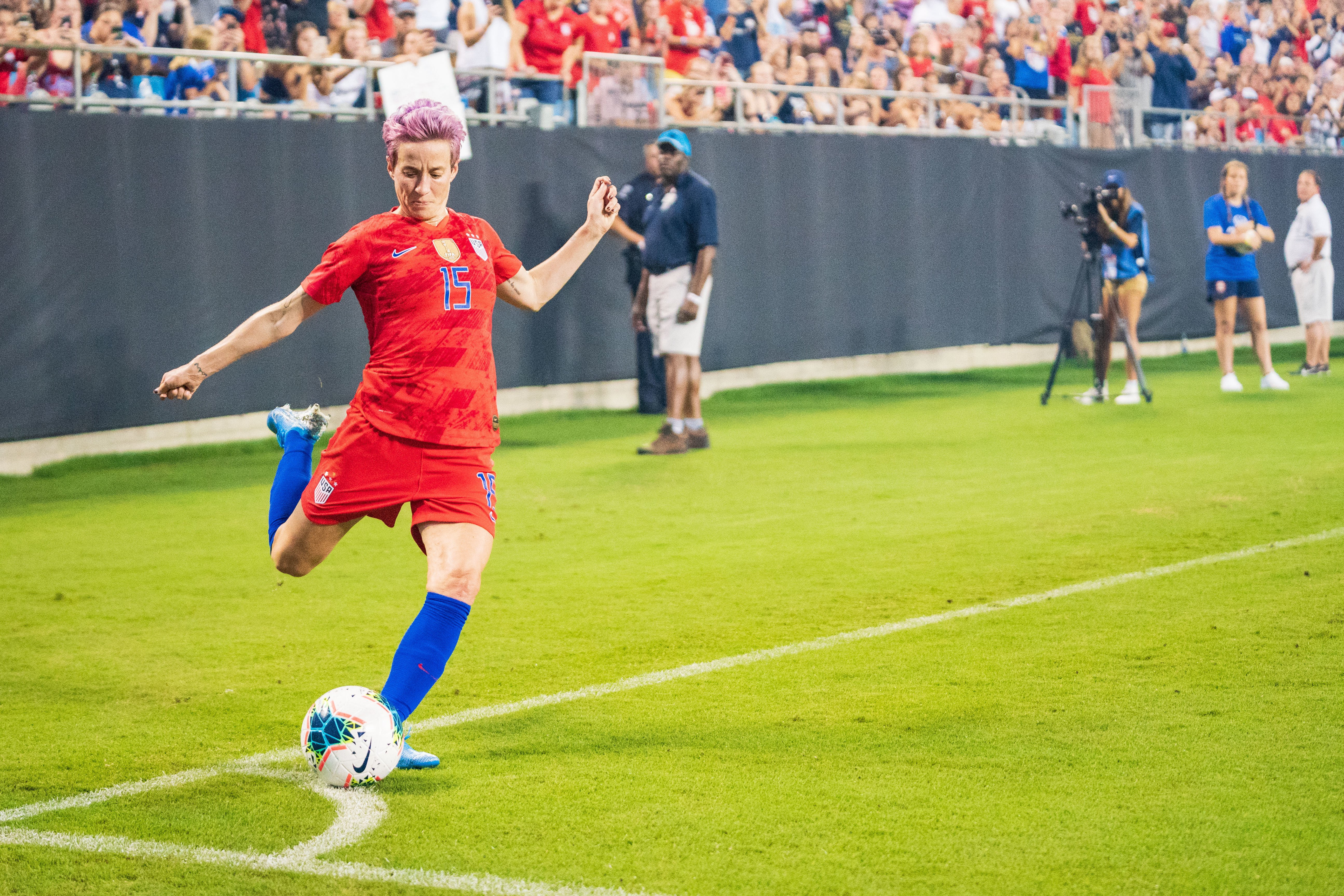 Thanksgiving special: The year of US soccer star Megan Rapinoe