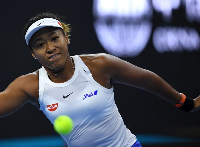 Naomi Osaka now drives through her shots much more than she did in previous years (PA Images)
