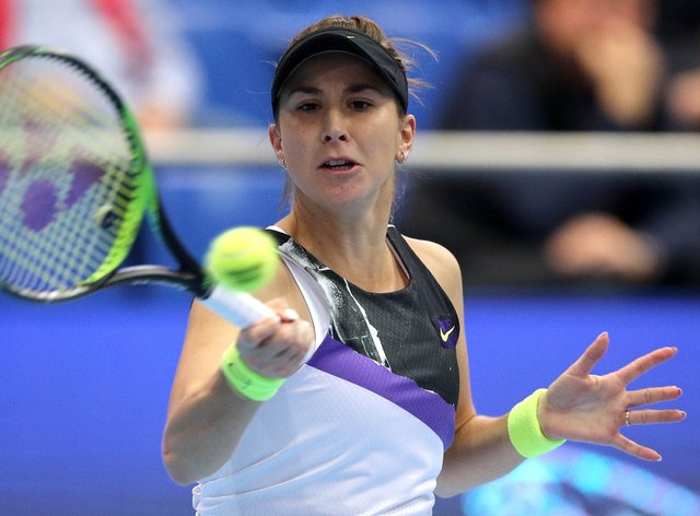 Belinda Bencic qualified for the WTA Finals with victory at the Kremlin Cup last week (PA Images)