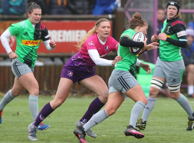 Harlequins picked up another bonus point in their win over Loughborough (Harlequins Women Twitter)