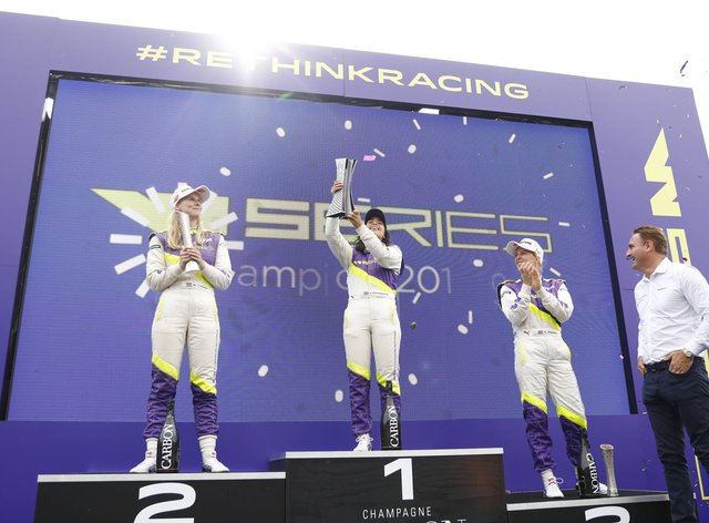 2019 Champion Chadwick will return next year but she is the only driver who will get the chance to defend her title (PA Images)