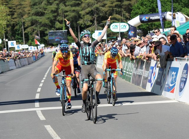 Cecilie Uttrup Ludwig has established herself as one of the very best riders in the world at the age of 24 (Twitter: CUttrupLudwig)