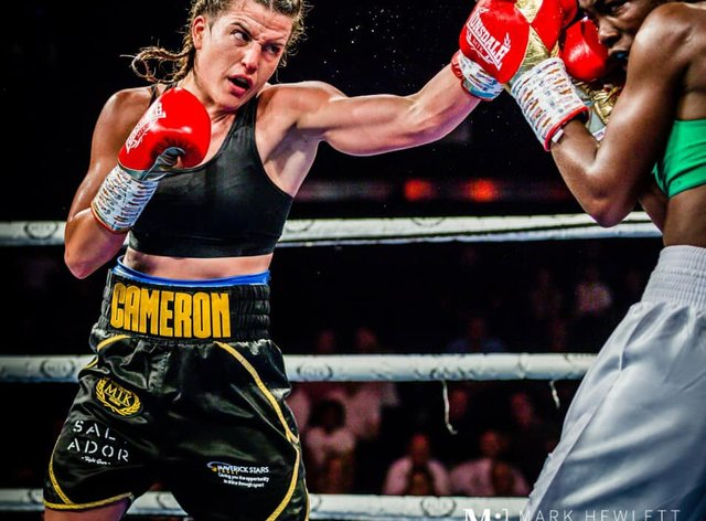 Chantelle Cameron has won all of her 12 professional fights to date (Mark Hewlett Photography)