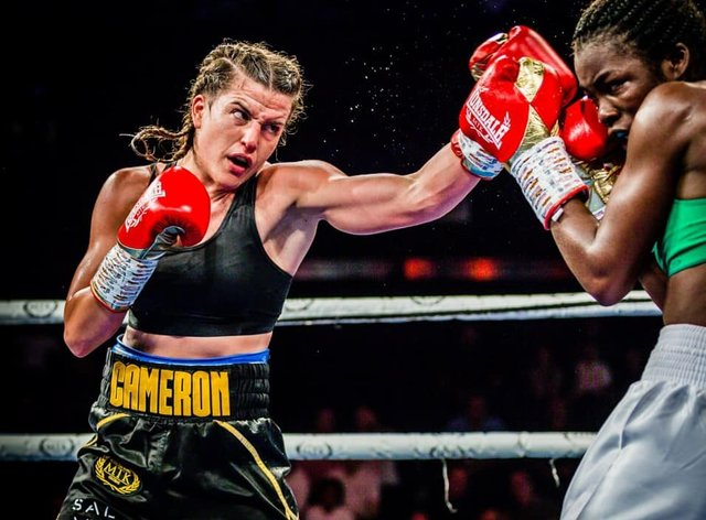Cameron wants a title bout with Katie Taylor (Mark Hewlett Photography)
