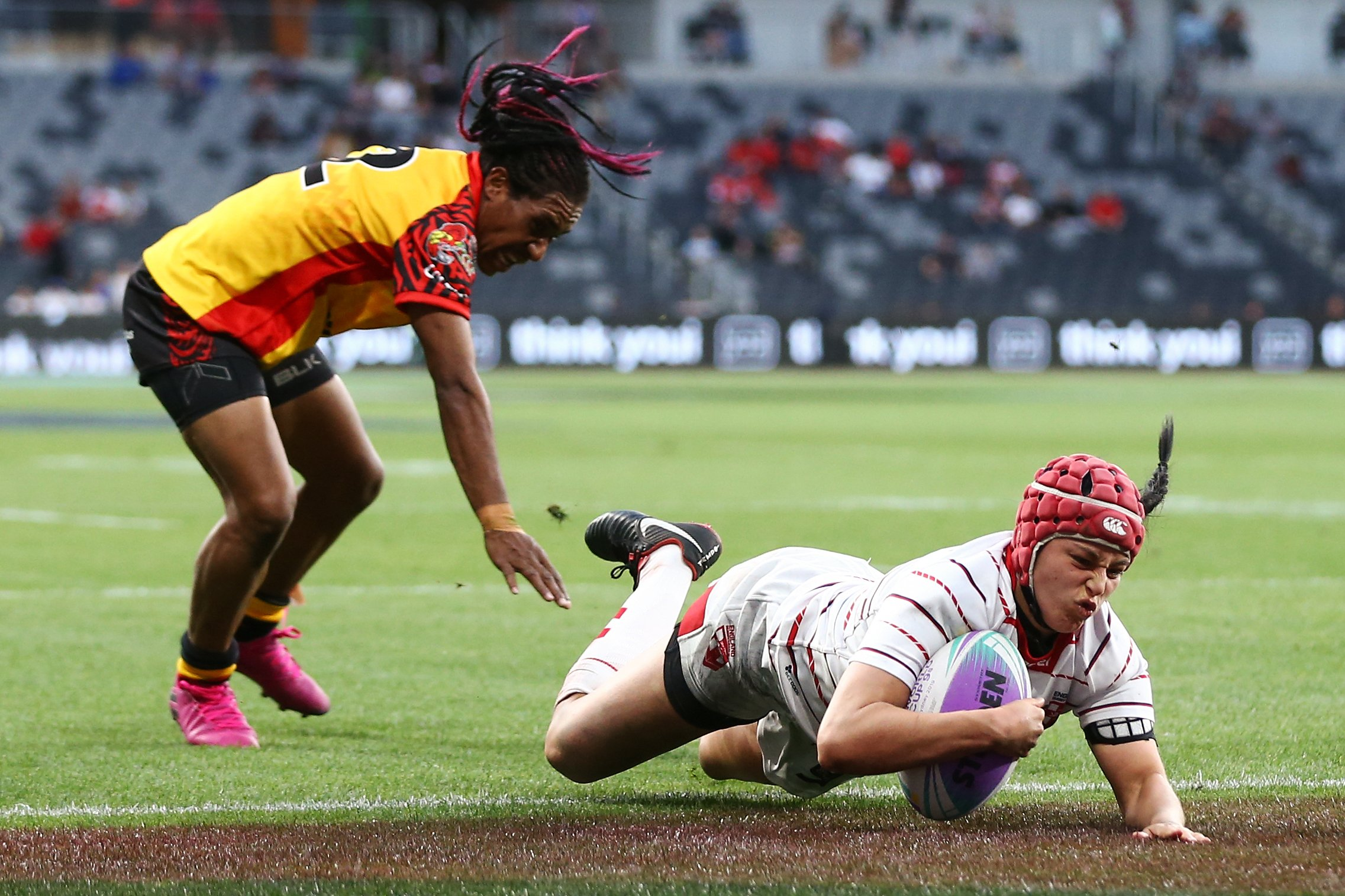 England rugby league captain Emily Rudge hoping for Papua New Guinea double