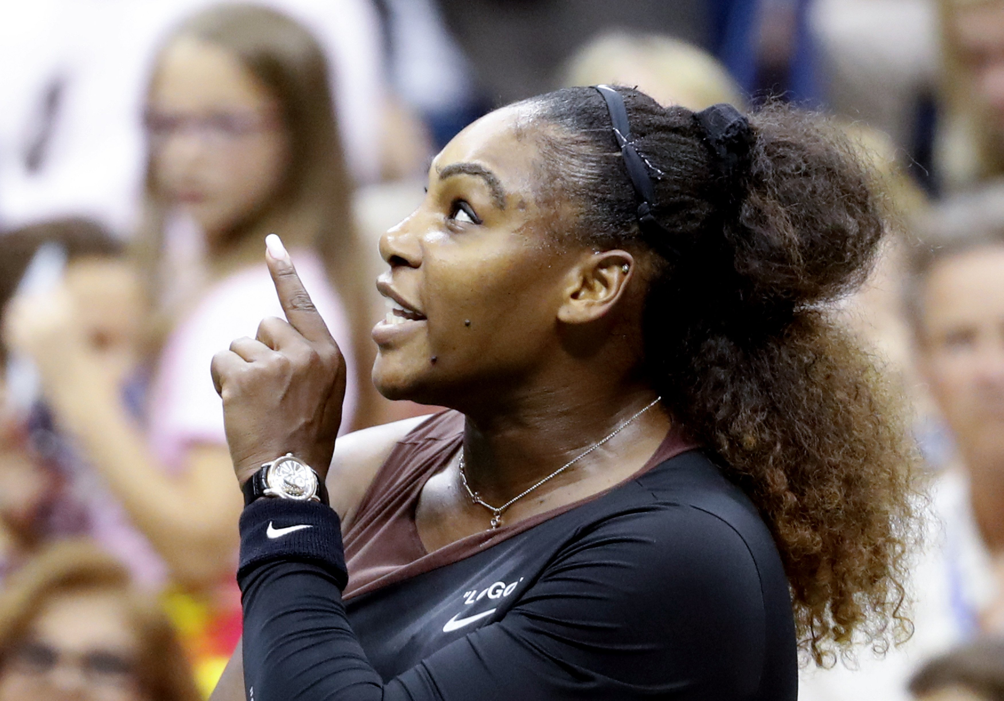 Serena Williams' US Open smashed racket sells for nearly $21,000 at auction