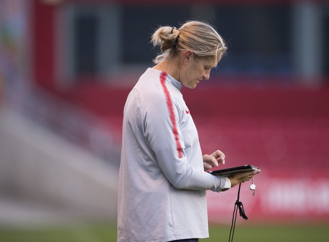 Team US's Dawn Scott will join the Lionesses' coaching staff in December (PA Images)