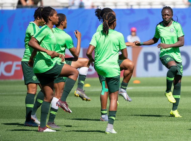 The National side, The Super Falcons, are nine-time Africa Women Cup Of Nations champions (PA Images)