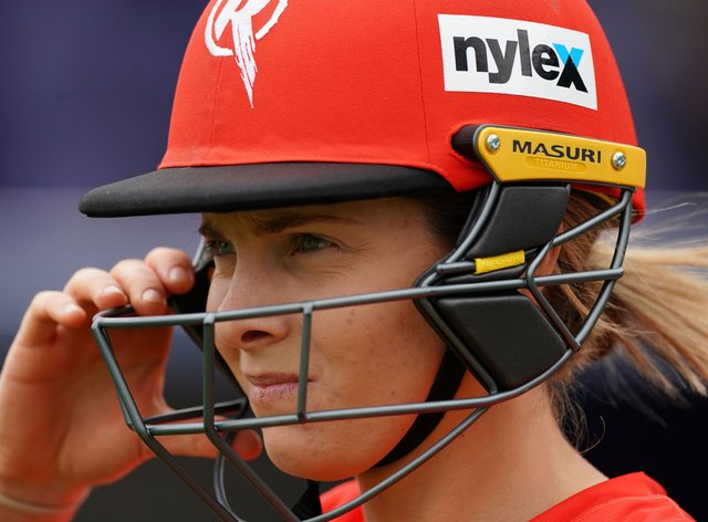 Sophie Molineux will be taking time away from cricket (PA Images)