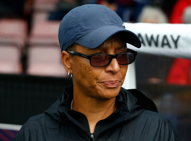 Brighton boss Hope Powell will be looking for improvement from her players following their defeat to Manchester United (PA Images)