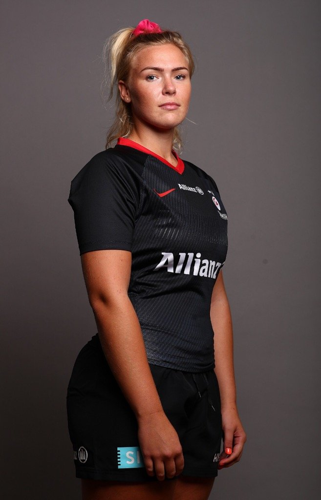 Saracens rugby star Rosie Galligan talks about her meningitis nightmare on the day she returns to Premier 15s action