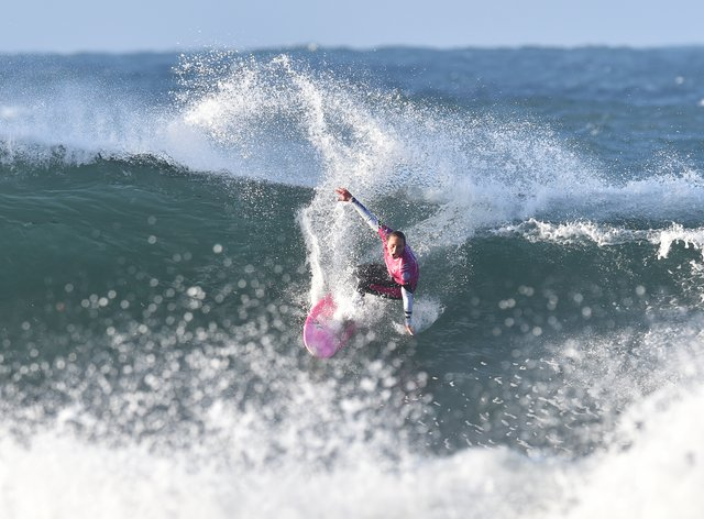 Carissa Moore impressed in Maui and makes history as US team qualifies for first Olympics (PA Images)