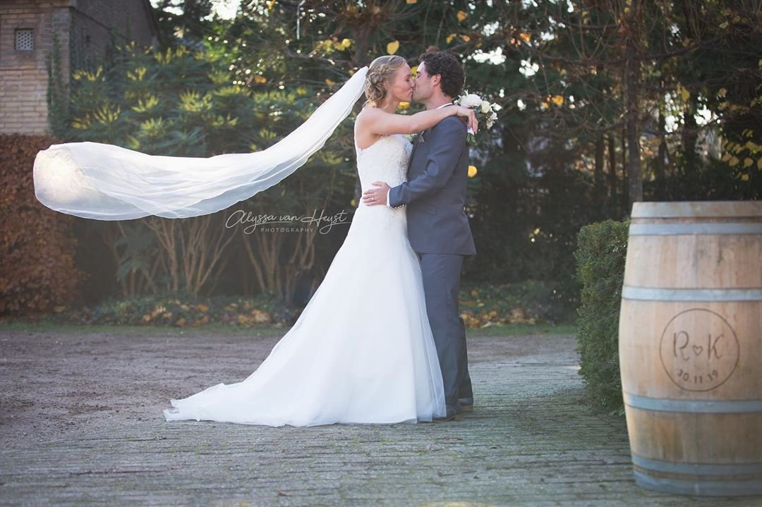 Tennis star Kiki Bertens marries long-time partner and physiotherapist Remko de Rijke